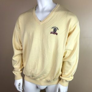 Vintage Tommy Hilfiger Golf V-neck Sweater Size XL